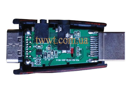 HDMI to VGA convertor top